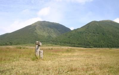 西の原と三瓶山の画像