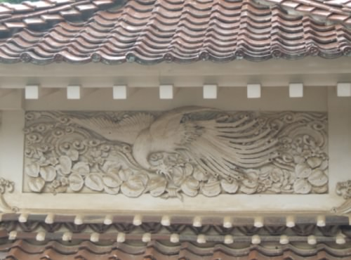 西性寺鏝絵