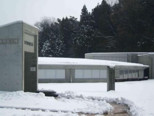 雪の展示棟