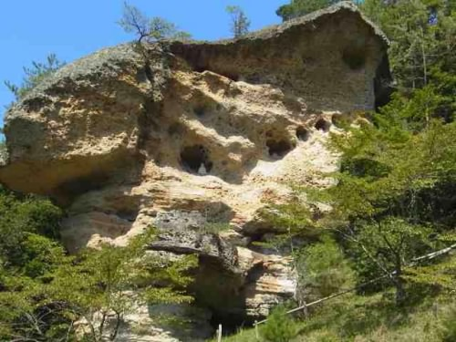 鬼村の鬼岩