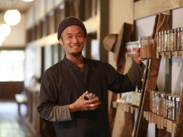 食の大切さを伝える「糧」大江さん