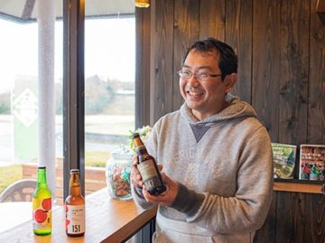 みんなで乾杯!クラフトビールで地域の魅力を掘り起こす 石見麦酒 山口さん